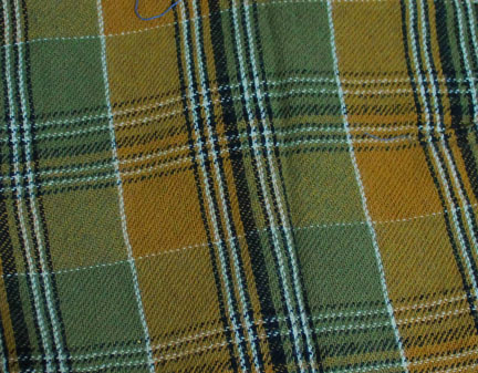 Plaid-green-gold