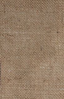 Burlap backing comes in fine to primitive sizes to accommodate a variety of fibre widths.