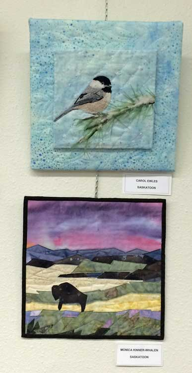 Works by Carol Ewle and Monika Kinner-Whalen